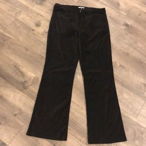 Boston Proper Crushed Velvet Pants Size 16